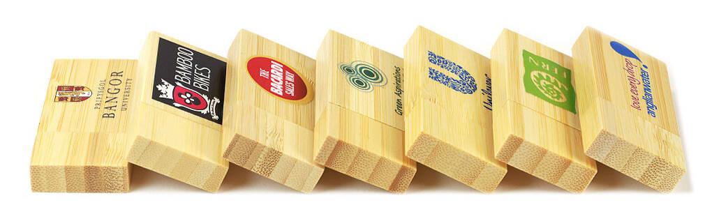 Bamboo USB Stick bedruckt oder graviert mit Ihrem Logo