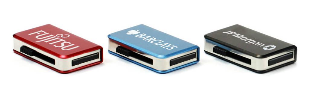 Engraved Slider USB Stick graviert mit Ihrem Logo