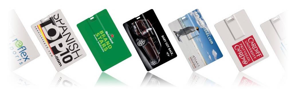 Card USB Stick bedruckt mit Ihrem Logo
