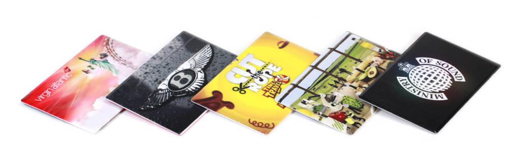 Card Slider USB Stick bedruckt mit Ihrem Logo