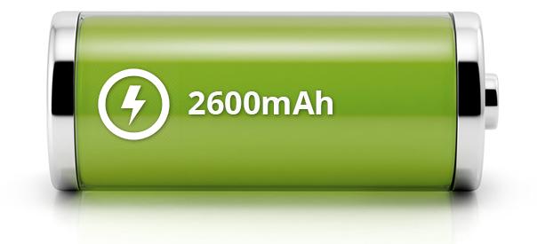 Power Bank Capacity 2600mAh
