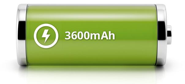 Power Bank Capacity 3600mAh
