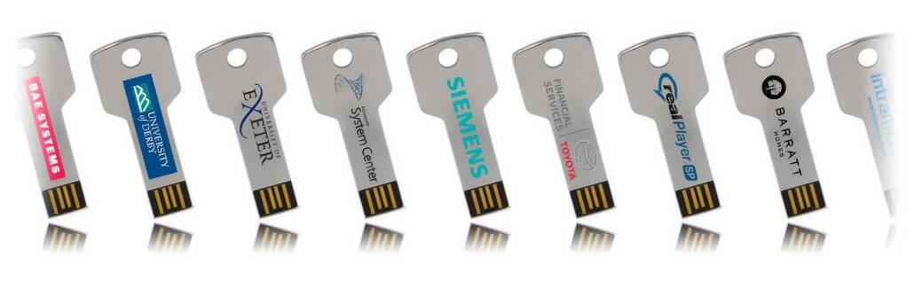 Key Classic USB Stick bedruckt oder graviert mit Ihrem Logo