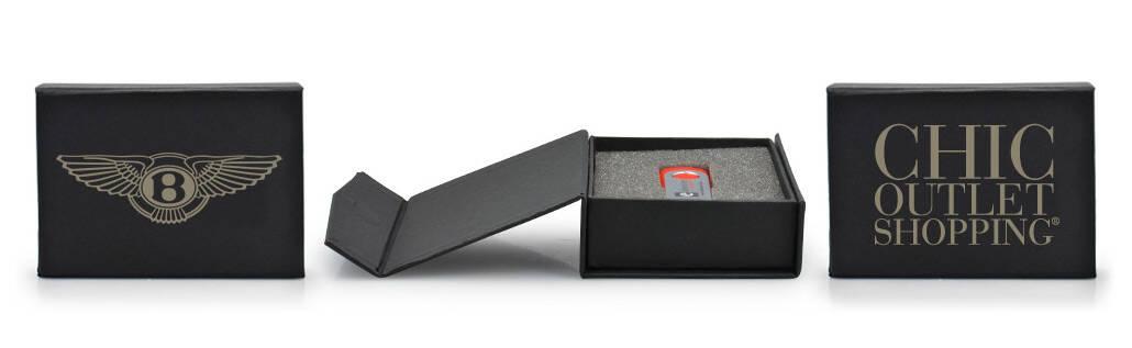 Black Flip Box bedruckt mit Ihrem Logo