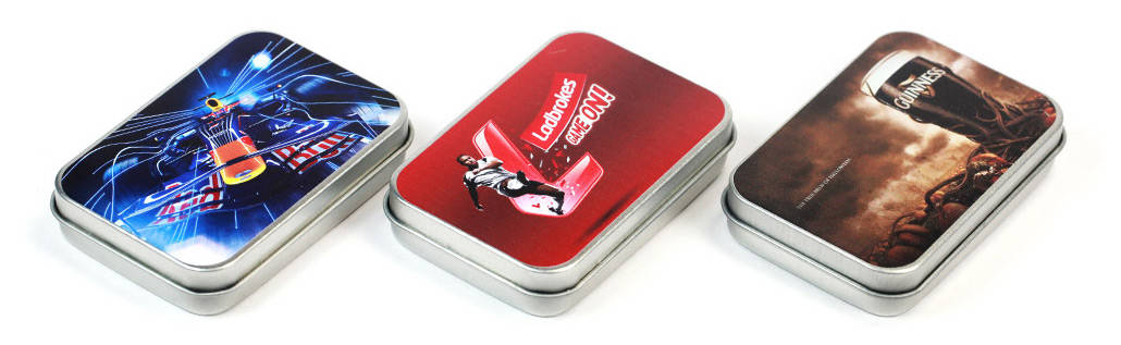 Mini Tin Box bedruckt mit Ihrem Logo