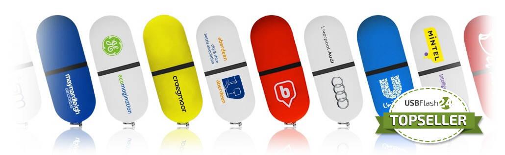 Probe USB Stick bedruckt mit Ihrem Logo