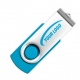 Twister USB Stick Cyan (313 C)
